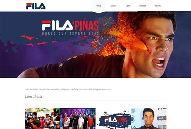 fila website - Fila