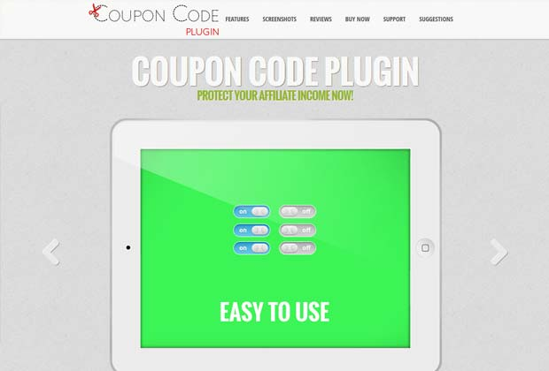 couponcodeplugin - Coupon Code Plugin