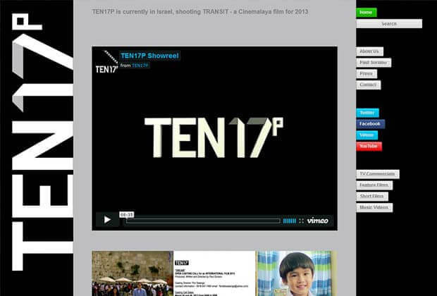 ten17p website - Ten17P