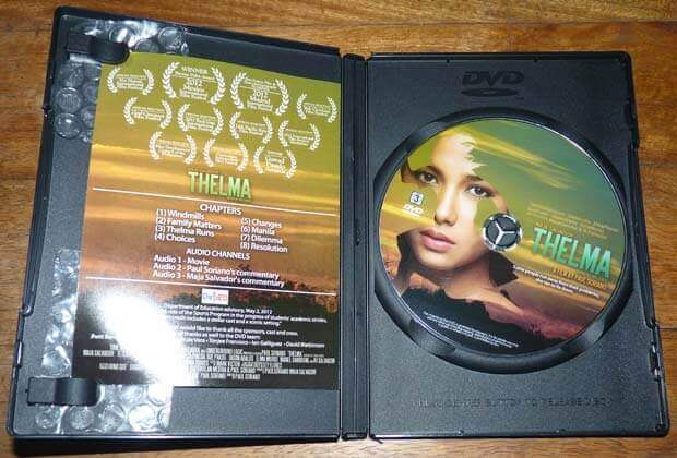 thelma dvd case open - Thelma